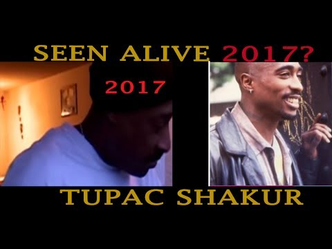 Tupac seen ALIVE 2017? Who is this MAN? NEW IDEA