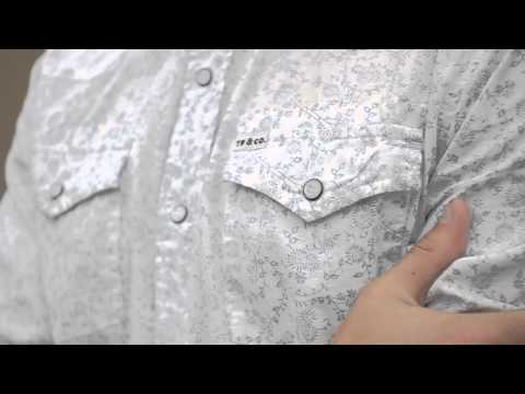 Tankfarm & Co. Mardel Floral Long Sleeve Button Down