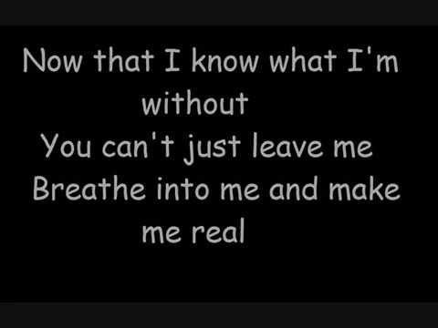 Evanescence - Bring Me To Life Lyrics and Free YouTube ...
