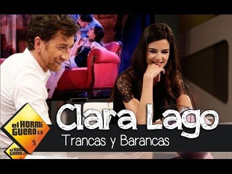 El Hormiguero 3.0 - Clara Lago con Trancas y Barrancas