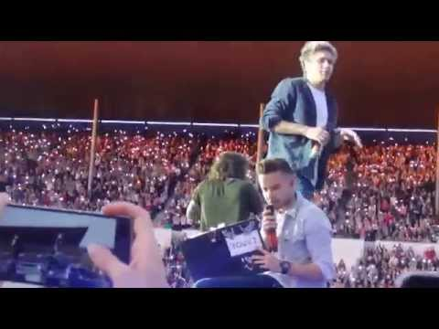 One Direction - Story Of My Life (the first half of it) (OTRA Helsinki 27.6.2015)