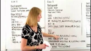 Erinn Andrews, Former Stanford Admissions Officer, Video Case Study #2