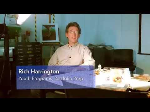 2014 Youth Portfolio Preparation // Instructor Rich Harrington, BFA Associate Professor