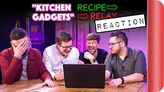 Reacting To Kitchen Gadgets Recipe Relay Video