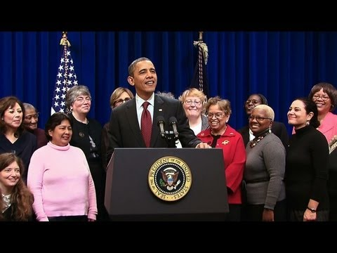 President Obama on Ensuring Fair Pay for In-Home Care Workers