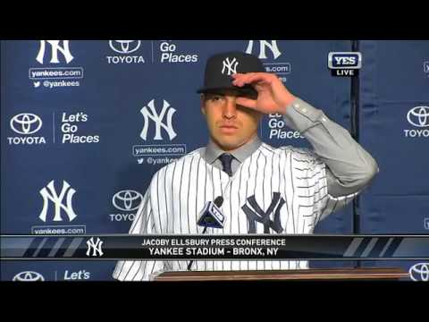 Jacoby Ellsbury New York Yankees Press Conference Q&A