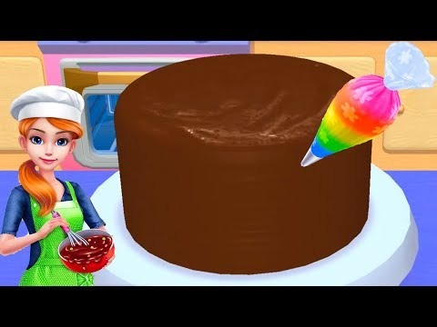 Fun Learn Cake Cooking & Colors Cake Fun Kids Games - My Bakery Empire - Bake, Decorate & Serve Cake