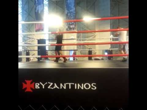 Vizantinos Target Sport Club- Boxing Training at Athens Olympic Stadium with CHRISTOS GATSIS