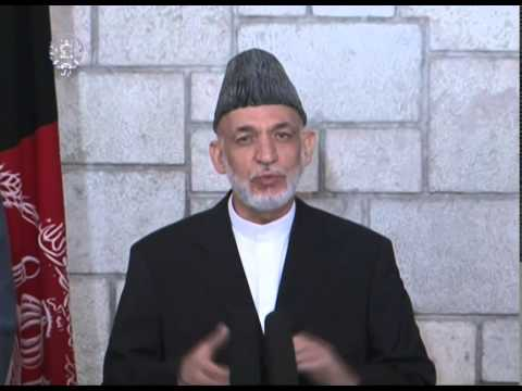 President Karzai , Sec. Kerry & UN Spec Rep Joint Press Conference on election -- July 13, 2014