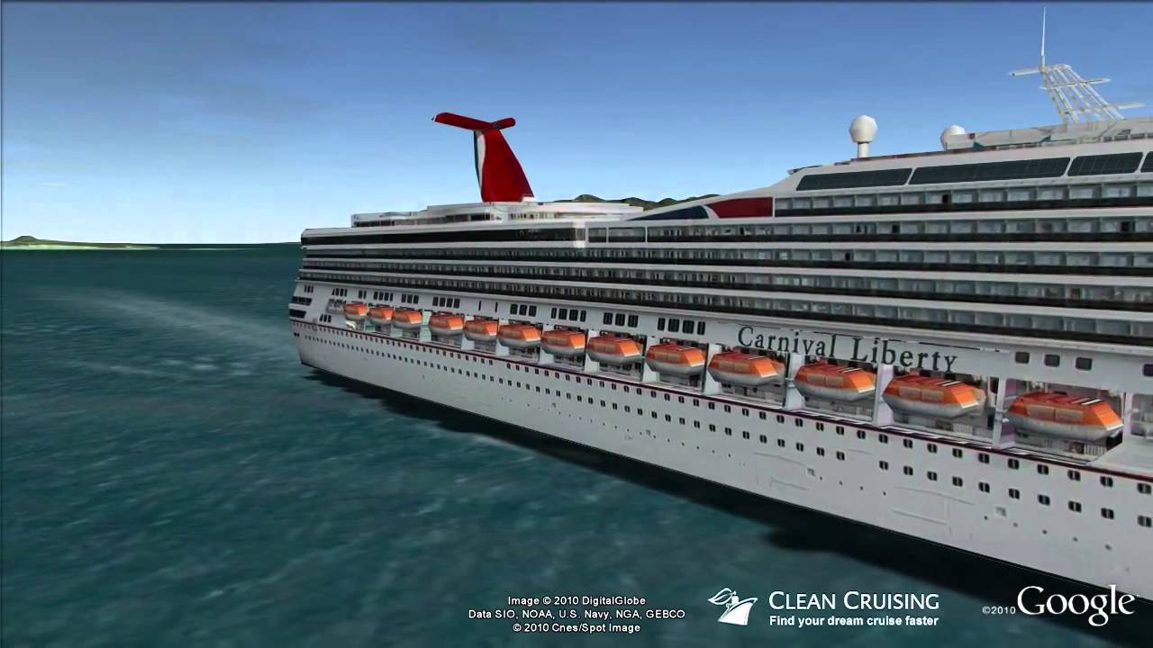 Carnival Liberty Virtual Ship Tour  YouTube