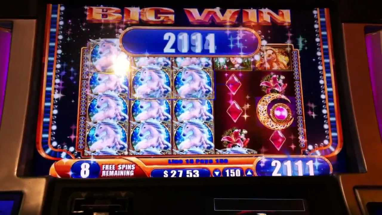 free mystical unicorn slot machine