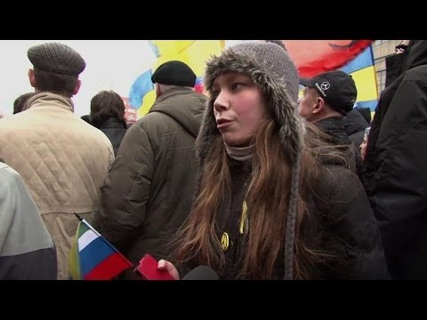 50,000 in Moscow protest Crimea intervention
