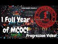 1 Full Year Of MCOC Progression Video Account Overview Marvel Contest Of Champions