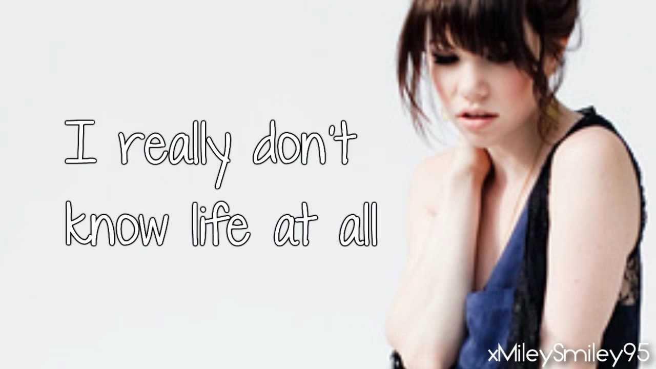 Carly Rae Jepsen - Both Sides Now (with lyrics)