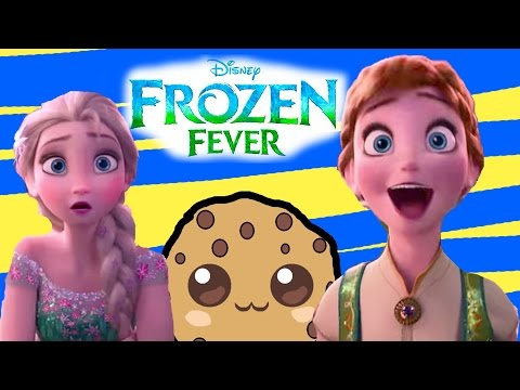 Queen Elsa Princess Anna Birthday Party New Disney Frozen Fever Short Film Kristoff Sven Trailer