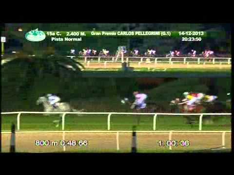 Vidéo de la course PMU GRAN PREMIO CARLOS PELLEGRINI INTERNACIONAL
