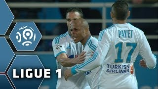 André Ayew's third HAT-TRICK for OM (OM-ACA 3-1) - Ligue 1- 2013/2014