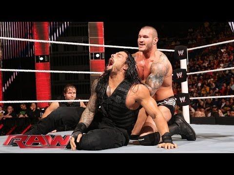 Roman Reigns vs. Randy Orton: Raw, April 28, 2014