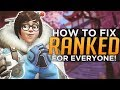 Overwatch FIX Ranked for EVERYONE Low Ranks Too