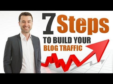 7 Steps To Build Your Blog Traffic Video