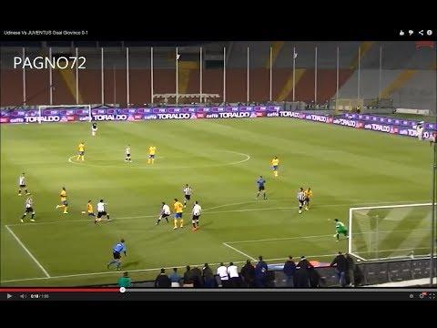 Udinese Vs JUVENTUS Goal Giovinco 0-1