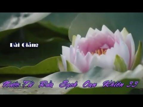 Nước Từ Rửa Sạch Oan Khiên (Kỳ 33)