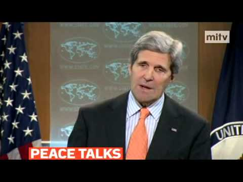 mitv - John Kerry urged Syrian opposition to attend next week's peace talks