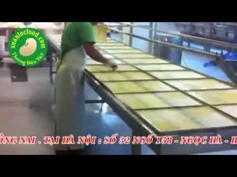 Đậu Hủ An Lộc mô hình sản xuất Tàu Hủ Ky sạch an toàn ! LH 0968 868 345