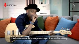 Marcus Miller signature Bass guitar Interview with Sire guitars