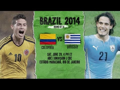 FIFA 14: Colombia vs Uruguay 2014 (HD)