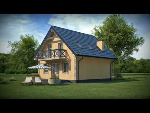 Projekty Z500 - projekt domu Z1