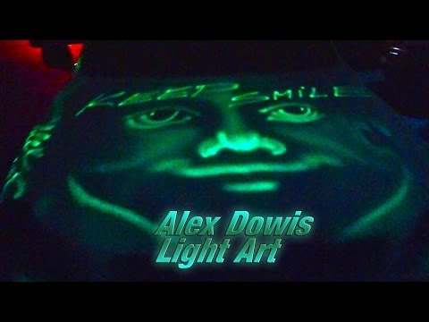 Alex Dowis, Light Art Show - Benefizabend 2013