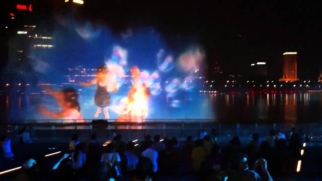 Wonder Full Light And Laser Show At Marina Bay Sands Singapore YouTube