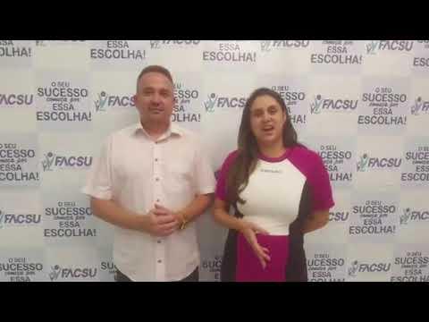 Autorização de cursos de graduação na FACSU