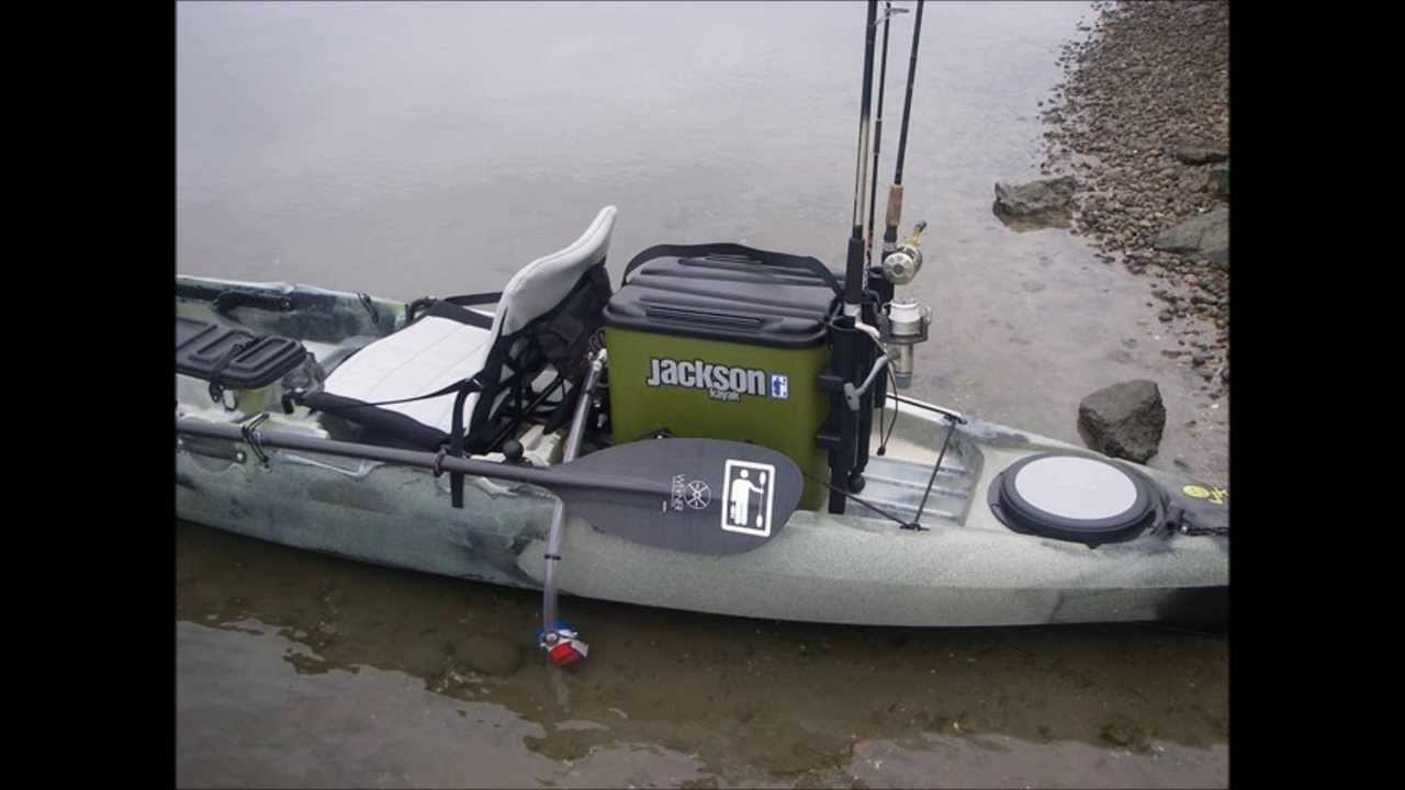 Jackson kayak jkrate turned into jtank by kfs youtube for Fishing kayak with livewell