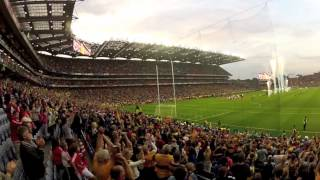 Clare v's Cork 2013 All Ireland Hurling Final (12min version). A Spectators view using GOPRO camera