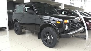 2017 LADA 4X4 Black Edition. Start Up, Engine, and In Depth Tour.. MegaRetr