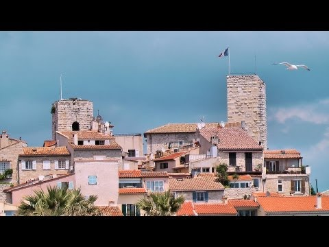 Antibes - from clouds to sun in a few hours, French Riviera [HD] (videoturysta)