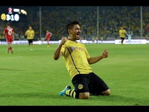 İlkay Gündoğan | Best Skills, Goals & Passes - Borussia Dortmund - 2013/14