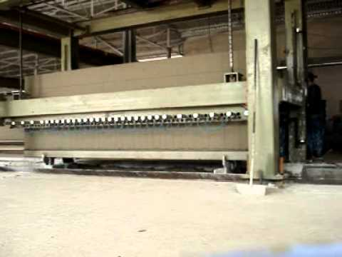 AAC/Aerated autoclaved concrete (light weight)block machine line(dongyue brand)