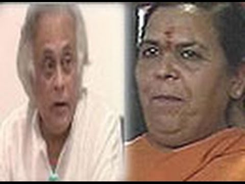 Uma Bharti rubbishes Jairam Ramesh's charge