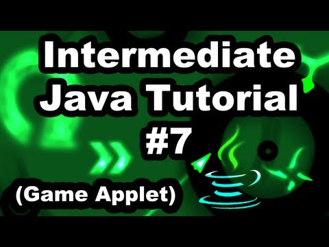 Learn Java 2.7- Game Applet- Adding Friction