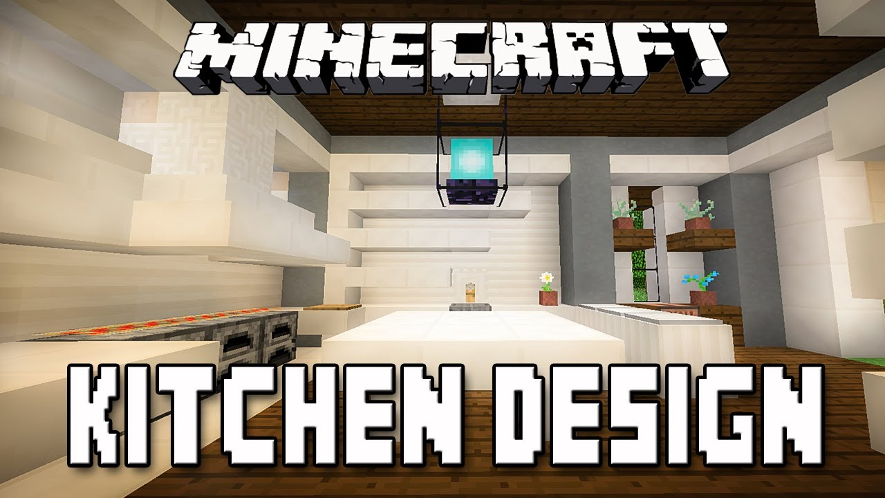 Minecraft Tutorial: Modern Kitchen Design How To Build A Modern House