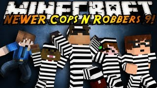 Minecraft Mini-Game : COPS N ROBBERS 3.0 ROUND NINE!