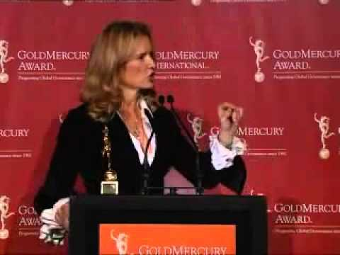 Gold Mercury Awards 2006 - Kerry Kennedy Acceptance Speech