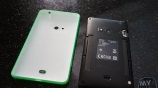 How To Remove Back Cover On Lumia 625 & Insert Sim/Micro