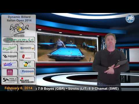 EPBF Video News Dynamic Billard Italian Open 2014
