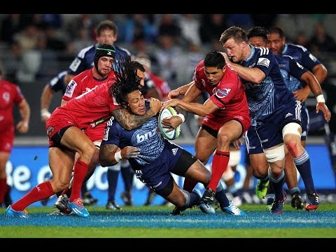 Blues v Reds Rd.12 | 2014 Super Rugby Video Highlights.