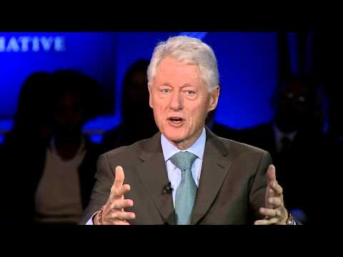 CNN's Piers Morgan Speaks with President Bill Clinton - 2013 CGI Annual Meeting