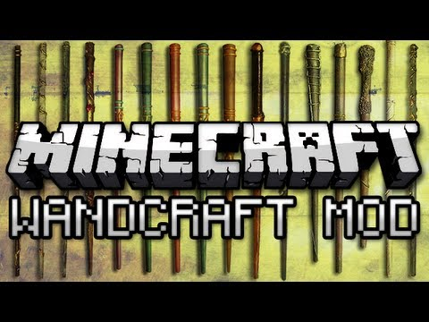 Minecraft: Magic Wands Mod! (WandCraft), Minecraft mods playlist ► http://www.youtube.com/playlist?list=PL30FC0EAA68C0A962 Super sweet gear! http://captainsparklez.spreadshirt.com/ ● Twitter: http:/...